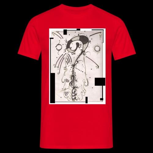 The Shah Do Ha Gallery Of Heaven s Pillar - Men's T-Shirt