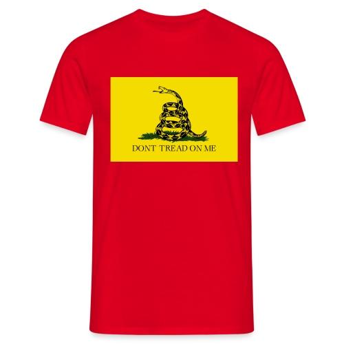 Don't tread on me - Camiseta hombre