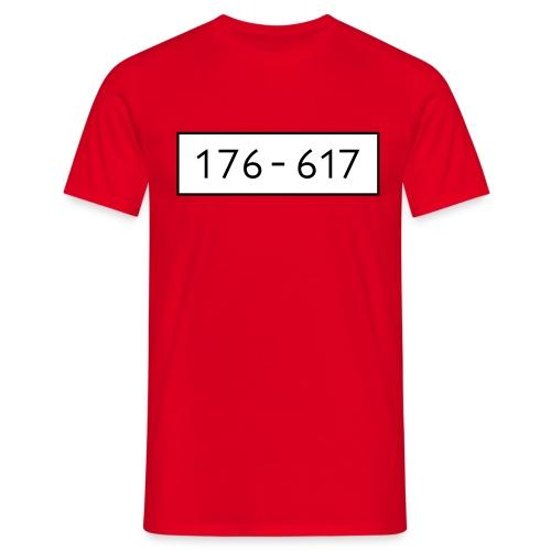 Panzerknacker 6 Nummern Gruppenkostüme Fasching - Männer T-Shirt