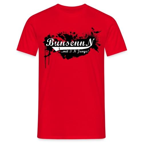 logschwarz - Männer T-Shirt