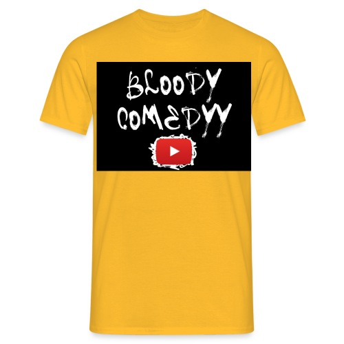 BloodyComedyy YT - Männer T-Shirt