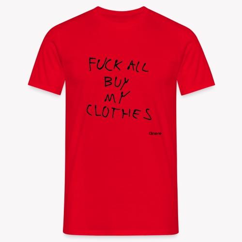 Clinere Fuck - Koszulka męska