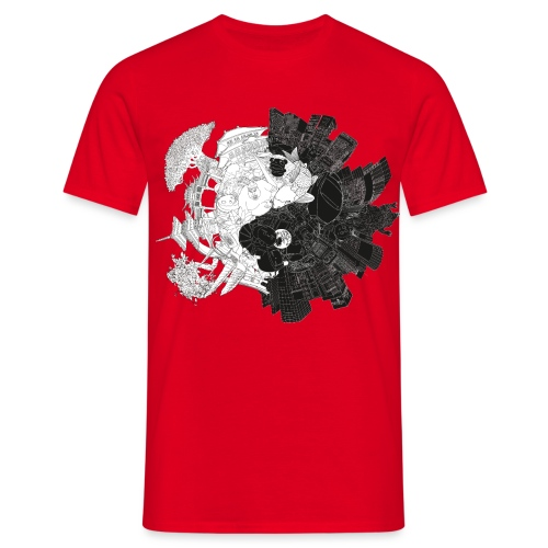 New Yin Old Yang - Men's T-Shirt