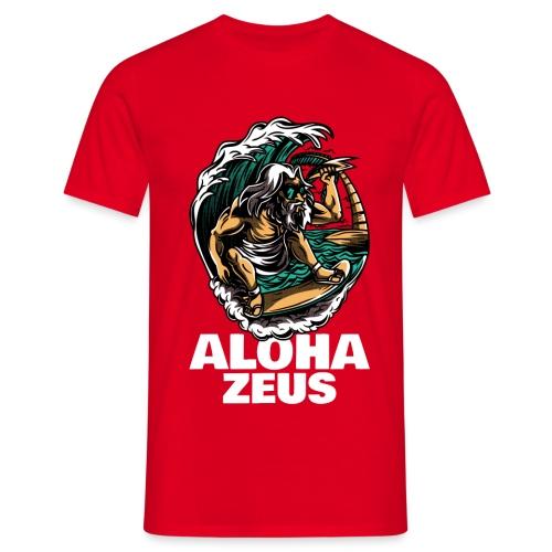 Aloha Zeus | Humor Surf | Mitología - Camiseta hombre