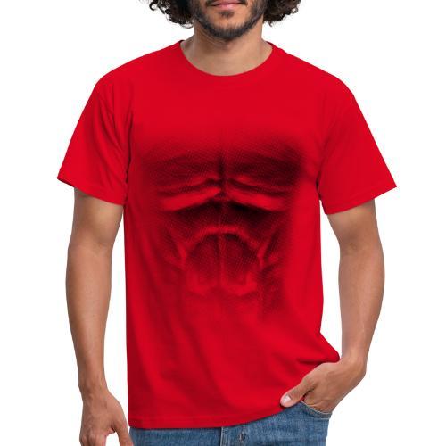 echt muskeln dark - Männer T-Shirt