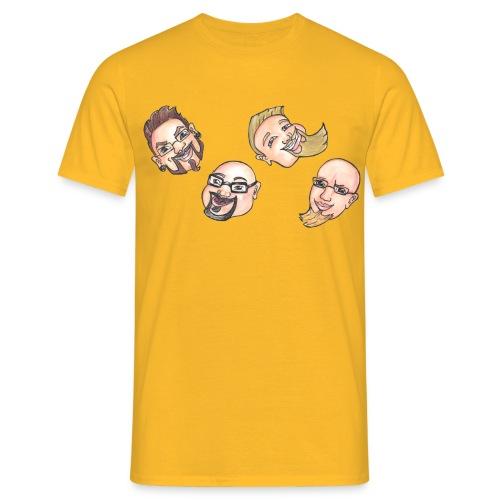 Nelinpeli OG - Miesten t-paita