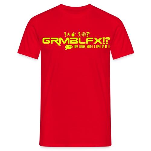 GRMBLFX Logo Motiv 01 - Männer T-Shirt