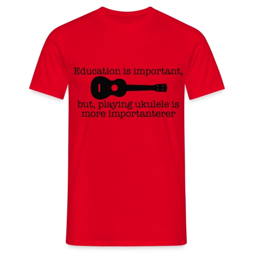 Important Ukulele - Men's T-Shirt