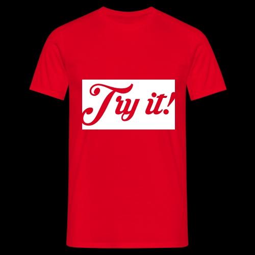 TRY IT! / INTENTALO! - Camiseta hombre