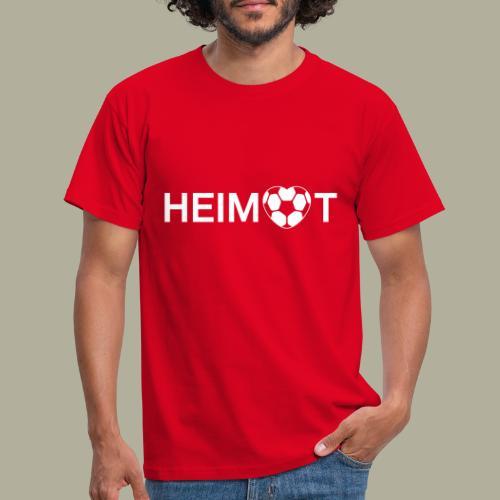 Dortmunder Heimat mit Fußballherz - Männer T-Shirt