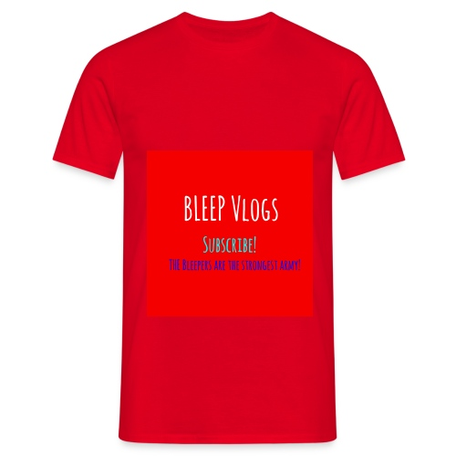 BLEEP Vlogs Limited Design - Men's T-Shirt