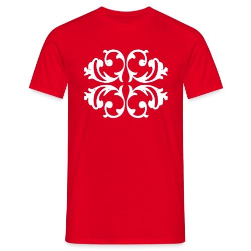 Blumen Muster - Außergewöhnliches Design - Männer T-Shirt