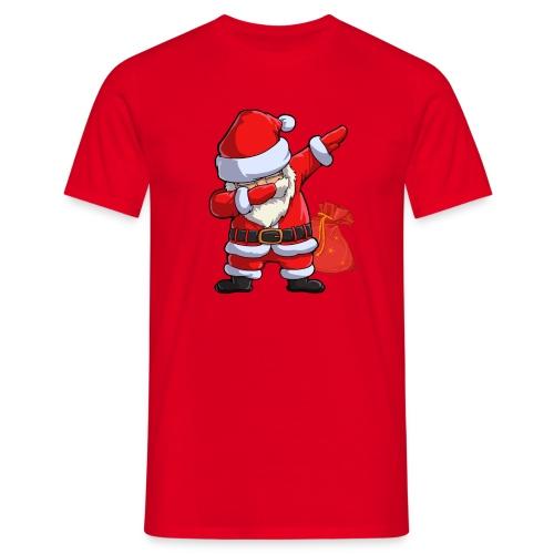 Dabbing santa - T-shirt Homme