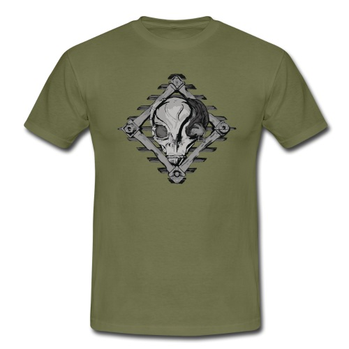 Visitor from alien planet - Men's T-Shirt