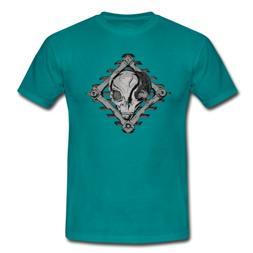 Visitor from alien planet - Men's T-Shirt