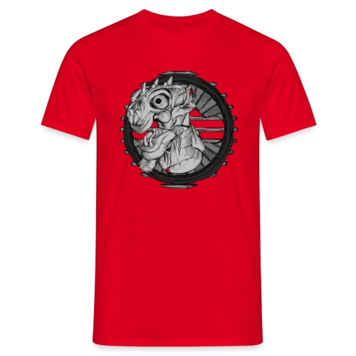 Alien hunter - Men's T-Shirt