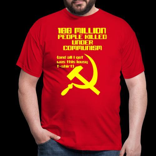 Communism - Men's T-Shirt