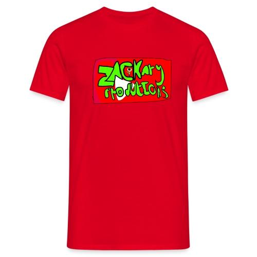 ZackaryProductions Desgin - Men's T-Shirt