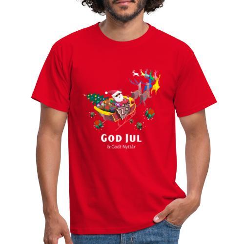 god jul og godt nyttår - T-skjorte for menn