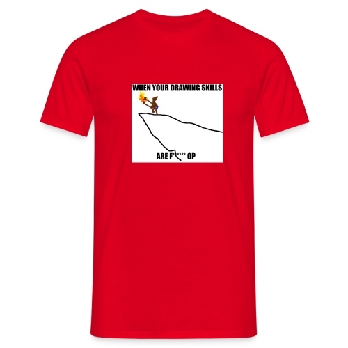 OP DRAWING SKILLS - Maglietta da uomo