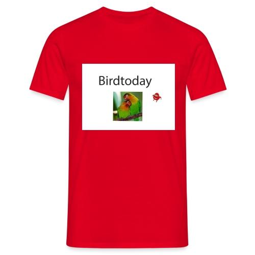 Birdtoday en Knuckels - Mannen T-shirt