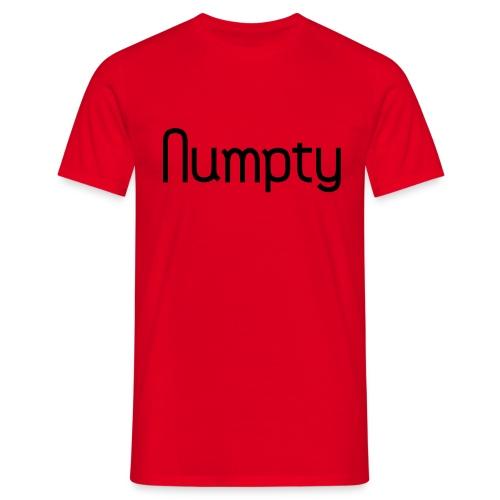 Numpty - Men's T-Shirt