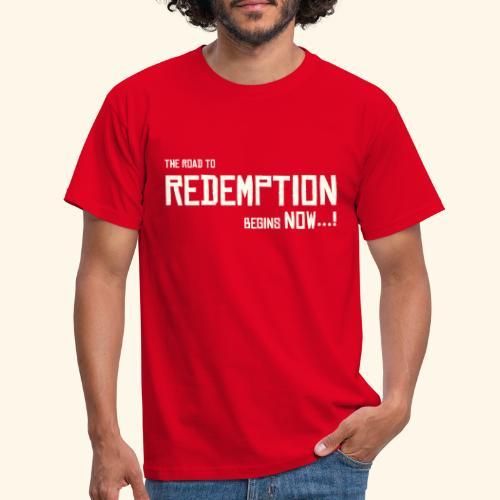 Wild West Game Text Design - Men's T-Shirt