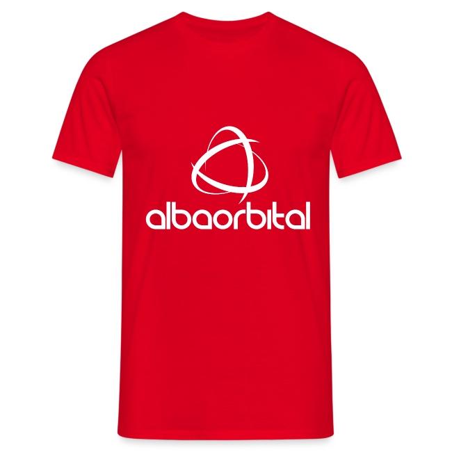 Alba Orbital Logo - White