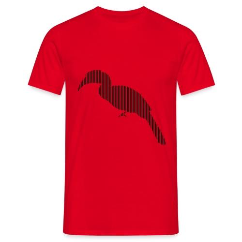 LINE BIRD 029b - Mannen T-shirt