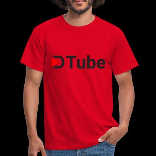 DTube logo - Männer T-Shirt