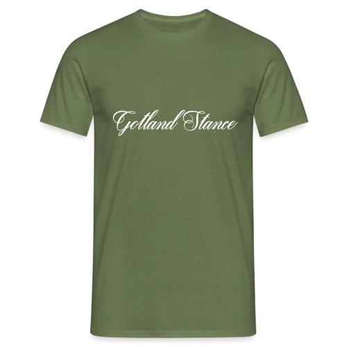 Gotland Stance vit - T-shirt herr
