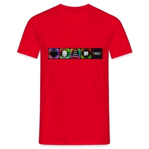 5 Logos - Men's T-Shirt