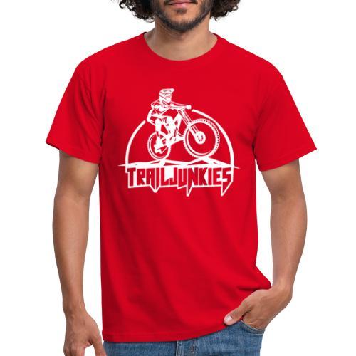 Trailjunkies Downhill - Männer T-Shirt