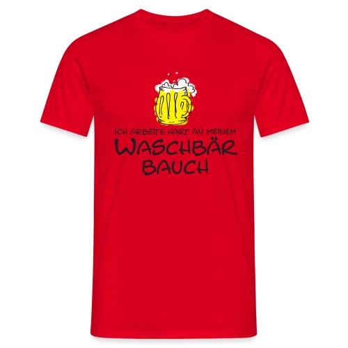 Waschbaerbauch - Männer T-Shirt