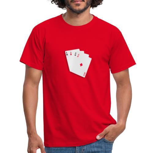 Poker cards - Maglietta da uomo