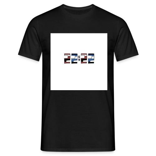 22:22 buttons - Mannen T-shirt