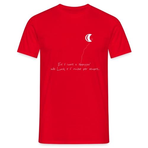 CUORE-E-LUNA - Maglietta da uomo