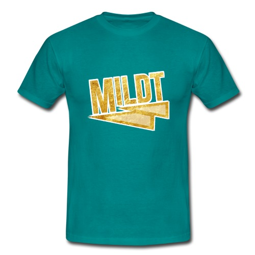 MILDT Gouden Vrouwen Shirt - Mannen T-shirt