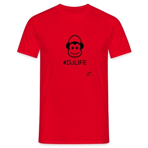 #DJLIFE - Mannen T-shirt