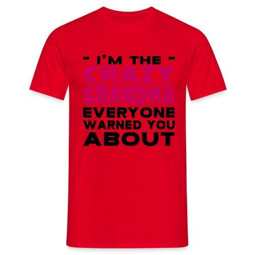 Crazy Grandma - Men's T-Shirt