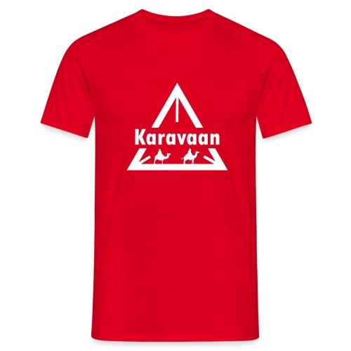 Karavaan White (High Res) - Mannen T-shirt