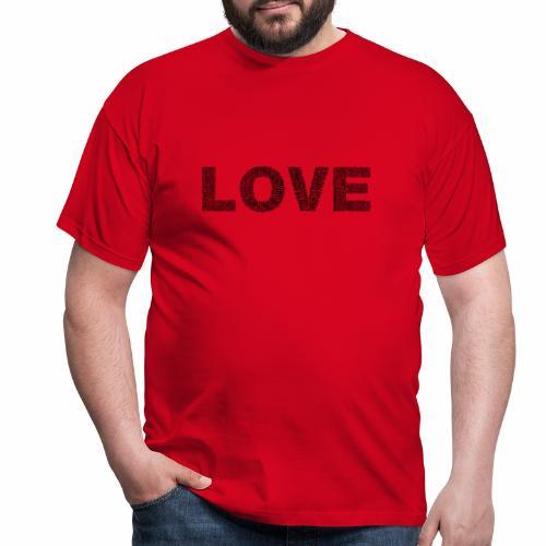 love - Koszulka męska