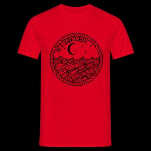 IBV Die Lichter das Meer black - Männer T-Shirt