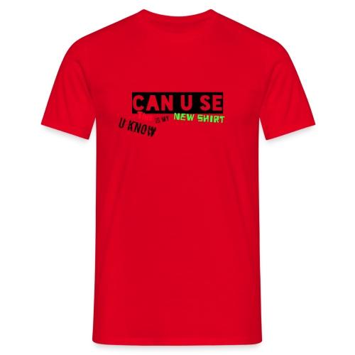 u can - T-shirt herr