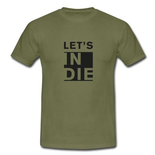 Official LET'S INDIE - Maglietta da uomo