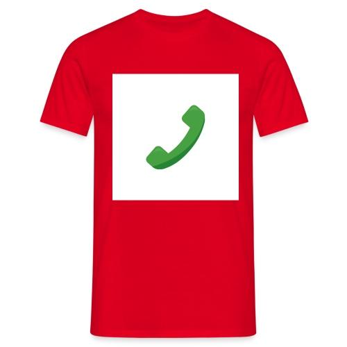 Telefon - Männer T-Shirt