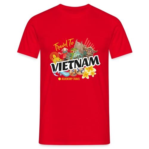 Vietnam by Blueberry Travel - Maglietta da uomo