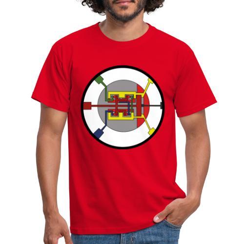 JackJohannes Hemp's Oscillator - Mannen T-shirt