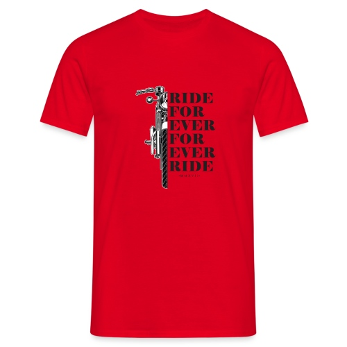 for ever ride warou team - T-shirt Homme