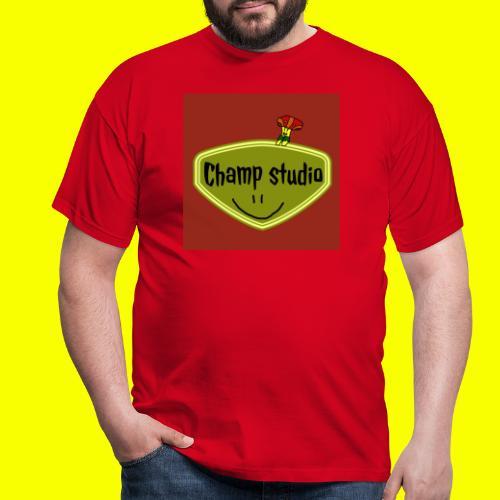 logo champ studio - T-shirt Homme